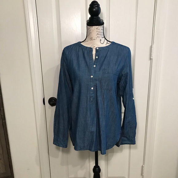 LOFT Tops - Loft cotton tunic